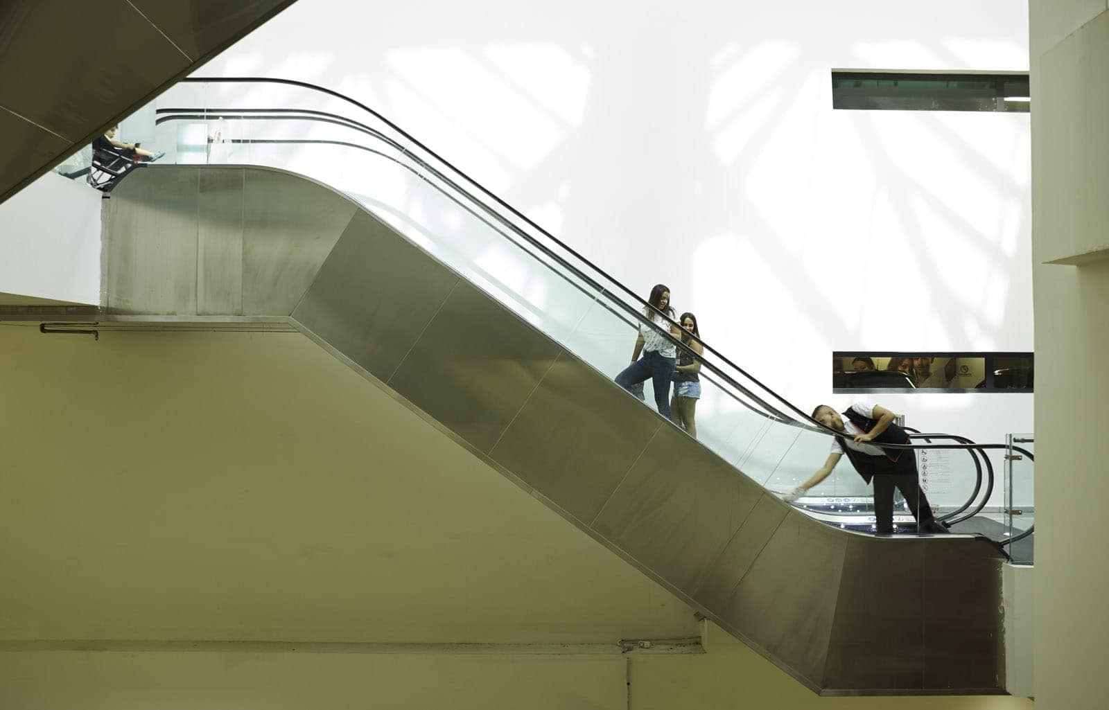 jerusalem escalator