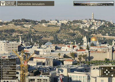 Jerusalem Gigapixel Panorama